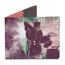 DC Comics Catwoman Mighty Wallet Tyvek Bi-Fold Card Holder Eco-Friendly Vegan
