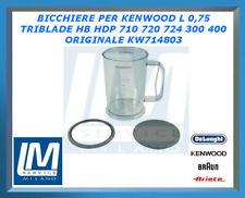 BICCHIERE KENWOOD L 0,75 TRIBLADE HB HDP 710 720 724 300 400 ORIGINALE KW714803