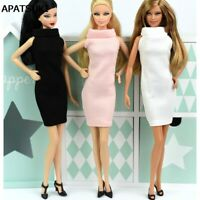 Fashion One Piece Dress For 1/6 Doll Evening Dresses Doll Clothes For 1/6 Doll