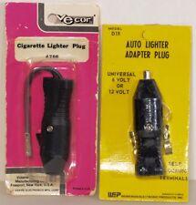 2 Cigarette Lighter Socket Plugs