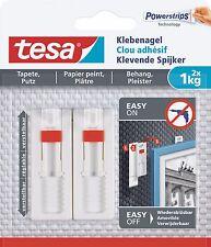 Tesa Powerstrips Klebenagel verstellbar 1 kg 77774-00 2 Stück Wiederverwendbar