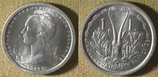 French Somaliland : 1948 1 Fr. Gem BU Beautiful Low Mint #4 IR9452