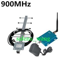 GSM Booster 900mhz 2G 3G WCDMA Cell Phone Signal Repeater + Outdoor Yagi Antenna