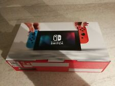 NEW! Nintendo Switch 32GB Grey Console (with Neon Red/Neon Blue Joy-Controller)