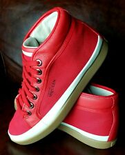 Alexander McQueen Puma Red Sneakers Formula One Rabble Mid Sz 10M!! Free socks!