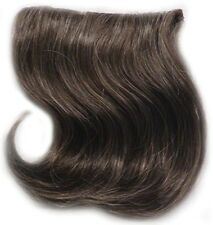 """6"""" x 8"""" INTEGRATION HAIRPIECE STRAIGHT HAIR EXTENSIONS MINI SPOT FILLER CLIP IN"""