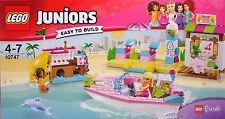 LEGO Friends 10747 Großer Strandurlaub Boot Kiosk Steg Rutsche Andrea Stephi NEU