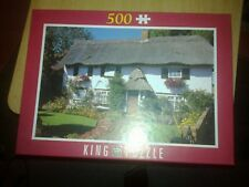 KING 500 PIECE JIGSAW  COTTAGE IN MIDDLESEX ENGLAND