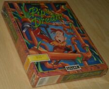 PIPE DREAM ~ Lucasfilm Commodore 64 C64 ~ BIG boxed/SEALED COLLECTIBLE ~ english