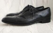 BRUNO MAGLI Maioco Cap Toe Oxfords Black Leather Shoes, Size 11 W Wide