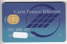 TELECARTE / PHONECARD .. CARTE FRANCE TELECOM NATIONAL PUCE BULL N°1 S/N° V°