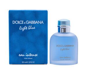 Light Blue eau intense by Dolce & Gabbana D&G 3.3 / 3.4 oz EDP Cologne for Men