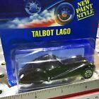 1992 Hotwheels #250 Blue Card Talbot Lago Rare in Blister Pack