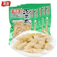100g X 5 Bags Youyou Chicken Feet Spicy Shanjiao Flavor Chinese Food 有友泡椒凤爪迷你小包