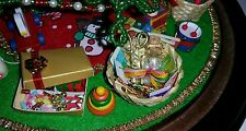For Westrim Beaded Mini Christmas Tree*Under Tree Decoration**Craft Basket*