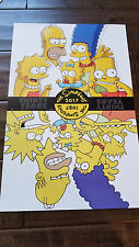 2017 SDCC COMIC CON EXCLUSIVE FOX POSTER THE SIMPSONS THIRTY YEARS 1987-2017