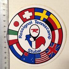 Aufkleber/Sticker: Rossignol Tenniscamp - Stubai (030316114)