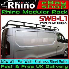 (SWB,LOW,TWIN) Rhino Modular Van Roof Rack For Renault Renault Traffic 2014-2018
