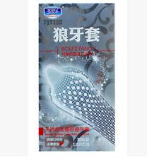 Lots 24Pcs Men Condoms Sensitive Orgasm Latex Large G Spot Dotted Ribbed Condoms