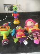 lamaze toy bundle Including Stick On Highchair Toy