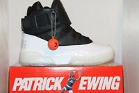 Mens Patrick Ewing Athletics 33 HI Black White Ice Gum Bottom Basketball Shoes