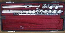 YAMAHA Flute YFL-211 S Nickel silver F/S USED JAPAN