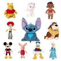 Disney Store Movie Character Plush Authentic Soft Toy Kids Baby Stuffed Animal