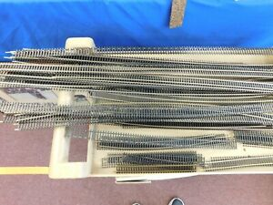 HO Scale Train Track, Road Bed, trees & Accessories