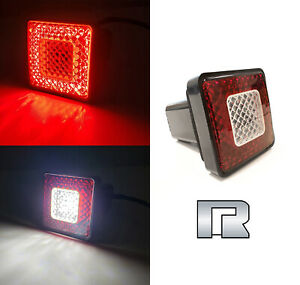"""Roane LED Tow Hitch Driving & Brake Lamp with Reverse Light Fits 2"""" for GMC"""