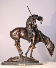 End of the Trail Finest US Lost Wax Bronze Sculpture Statue by James Fraser Baby