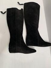 Nine West Myrtle Women Black Knee High Boot 6M blemished