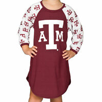 Texas A&M Aggies Long Sleeve Dorm Nightshirt (2T - 16)