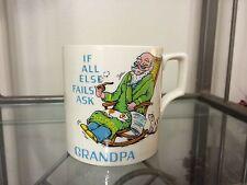 If All Else Fails Ask Grandpa Vintage Collectible Coffee Mug