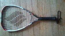 Ektelon Ice FusionLite Alloy oversize Racquetball Racquet with wilson case