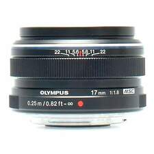 Olympus 17mm f1.8 M 4/3 Lens