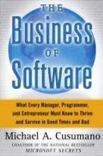 The Business of Software: What Every Manager, Programmer, and Entrepreneur Must