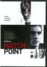 MATCH POINT DI WOODY ALLEN (DVD) NUOVO, ITALIANO