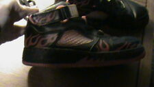 Nike Air Black with Red Flames - #318608 062 - Size 6