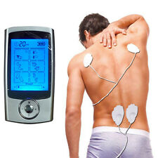 16 Modes TENS Unit Digital Electronic Pulse Impulse Body Massager Therapy Muscle