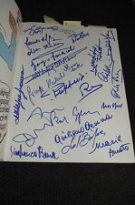 Bud Spencer Cinema Book with 71 autographs all with PROOF Gemma Pizzuti Burg