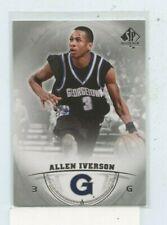 ALLEN IVERSON 2013-14 Upper Deck SP Authentic #3 Georgetown Hoyas