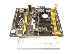 BIOSTAR AMD AM1MHP HDMI USB3 motherboard + QUAD CORE ATHLON 5350 Ideal HTPC +4GB