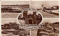 Postcard - Littlehampton - Greetings from - 5 views
