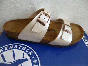 Birkenstock Sydney Mules Pearl White 1016171 New