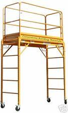 """MFS Scaffold Rolling Tower 29"""" X 6' Deck 6' Feet High With Guard Rail CBM"""
