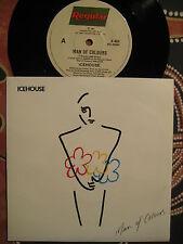 ICEHOUSE Man Of Colours / Komsaka B ~ 1987 Oz LTD ED Picture Sleeve 45 (Flowers)