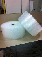 "WP 1/2"" x 12"" Large Bubble Perf 12"" 250 ft bubble cushioning wrap padding roll"