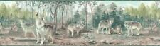 WOLVES Wallpaper Border TM75067