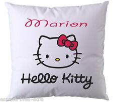 Coussin Hello Kitty personnalisé avec prénom