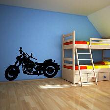 HARLEY DAVIDSON MOTORBIKE CHOPPER  Vinyl wall art sticker decal